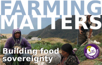 Farming Matters issue with Food Sovereignty stories from Europe (147)
