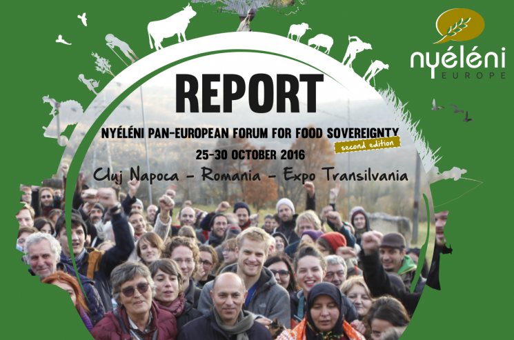 Report - Nyéléni Pan-European Forum 2016